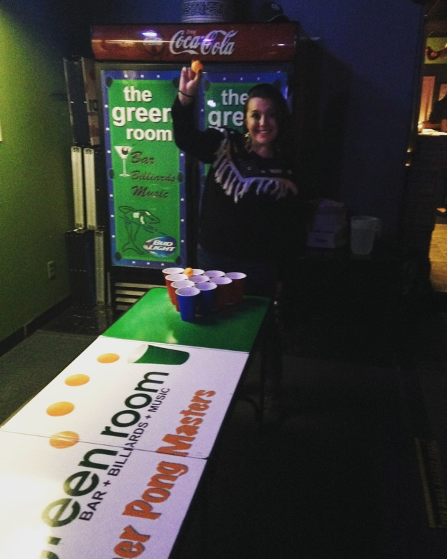 The Green Room Pong